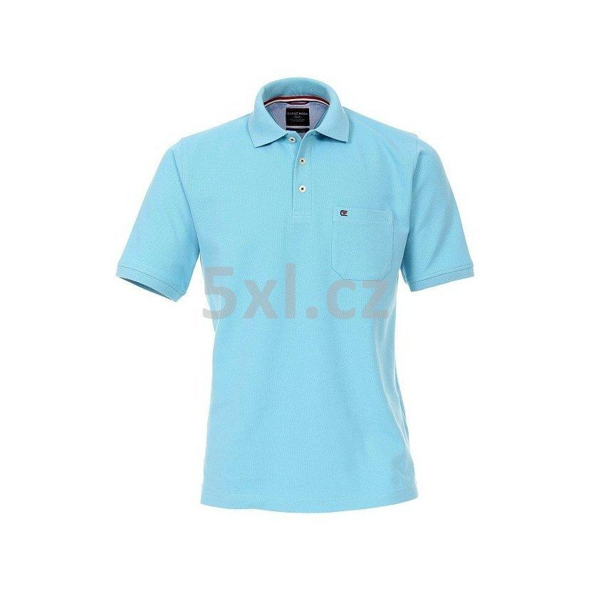 6f9a67f832f Pánská polokošile Casa Moda 4XL - 6XL krátký rukáv světle modrá 129