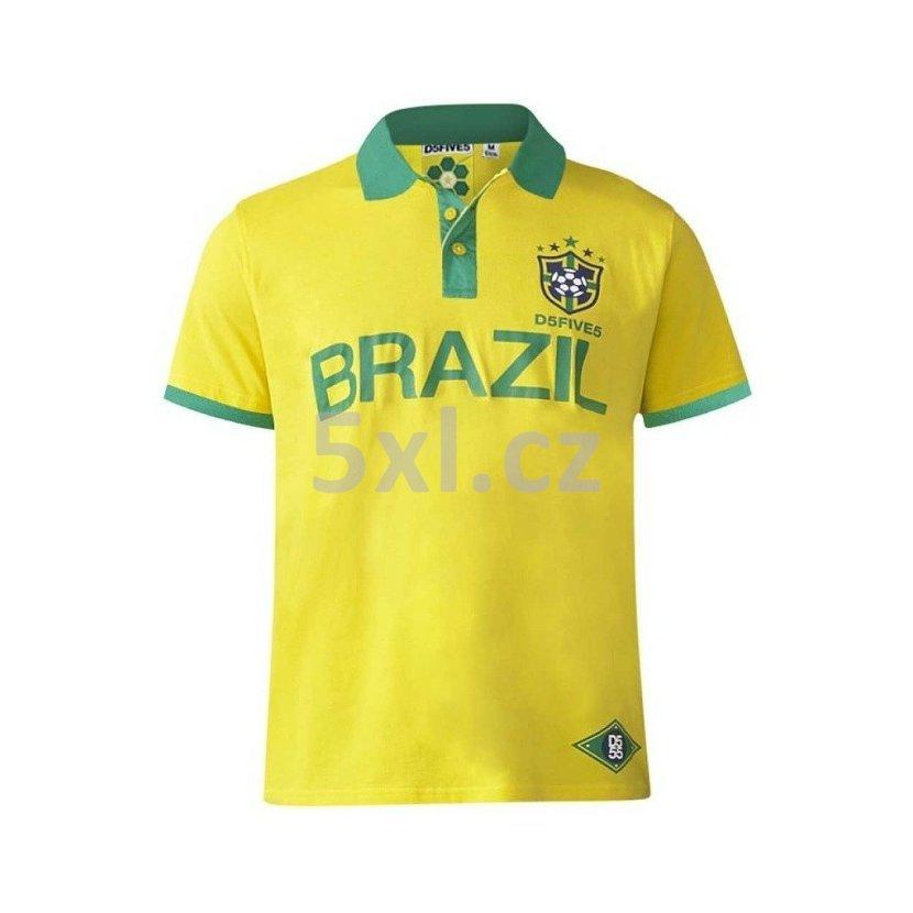 aa2ce3cdb5b Pánská polokošile KS16482 žluto zelená krátký rukáv - tričko s límečkem