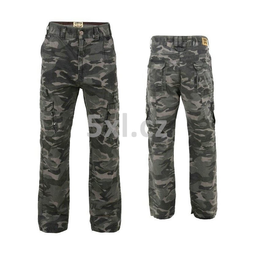 392cf8b63 Pánské maskáčové kalhoty - kapsáče KBS120 nadměrná velikost.